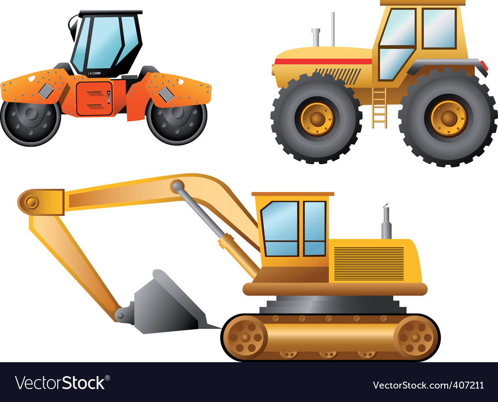 Road building vector | Price: 3 Credit (USD $3)