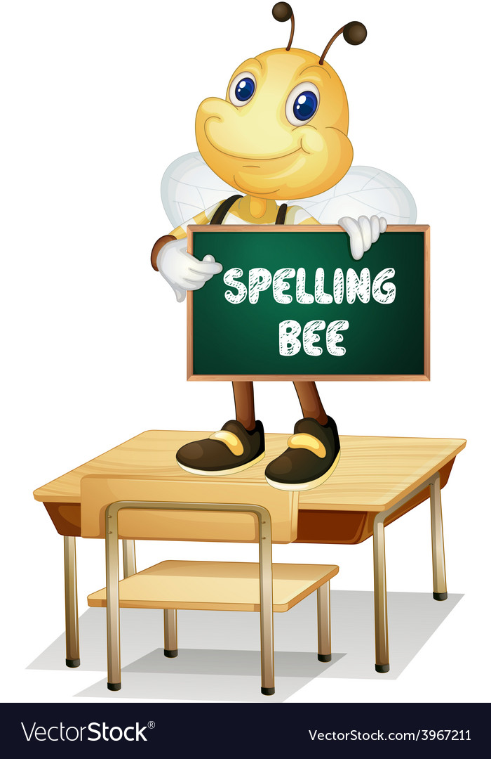 Spelling bee vector | Price: 1 Credit (USD $1)