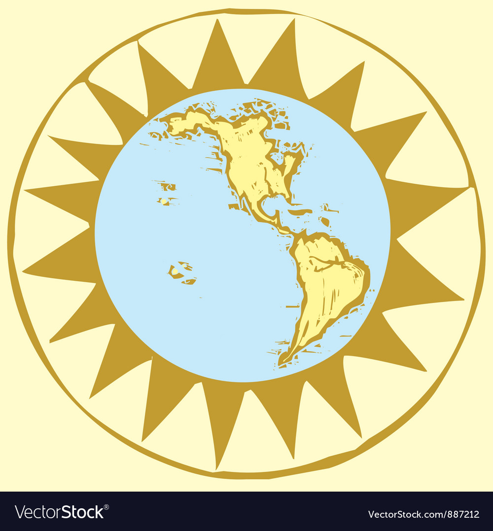 Compass rose earth vector   Price: 1 Credit (USD $1)