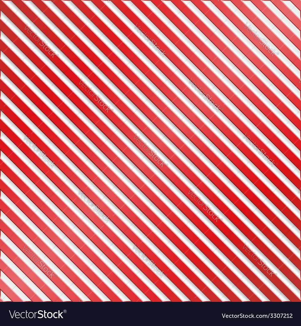 Red and white striped background vector | Price: 1 Credit (USD $1)