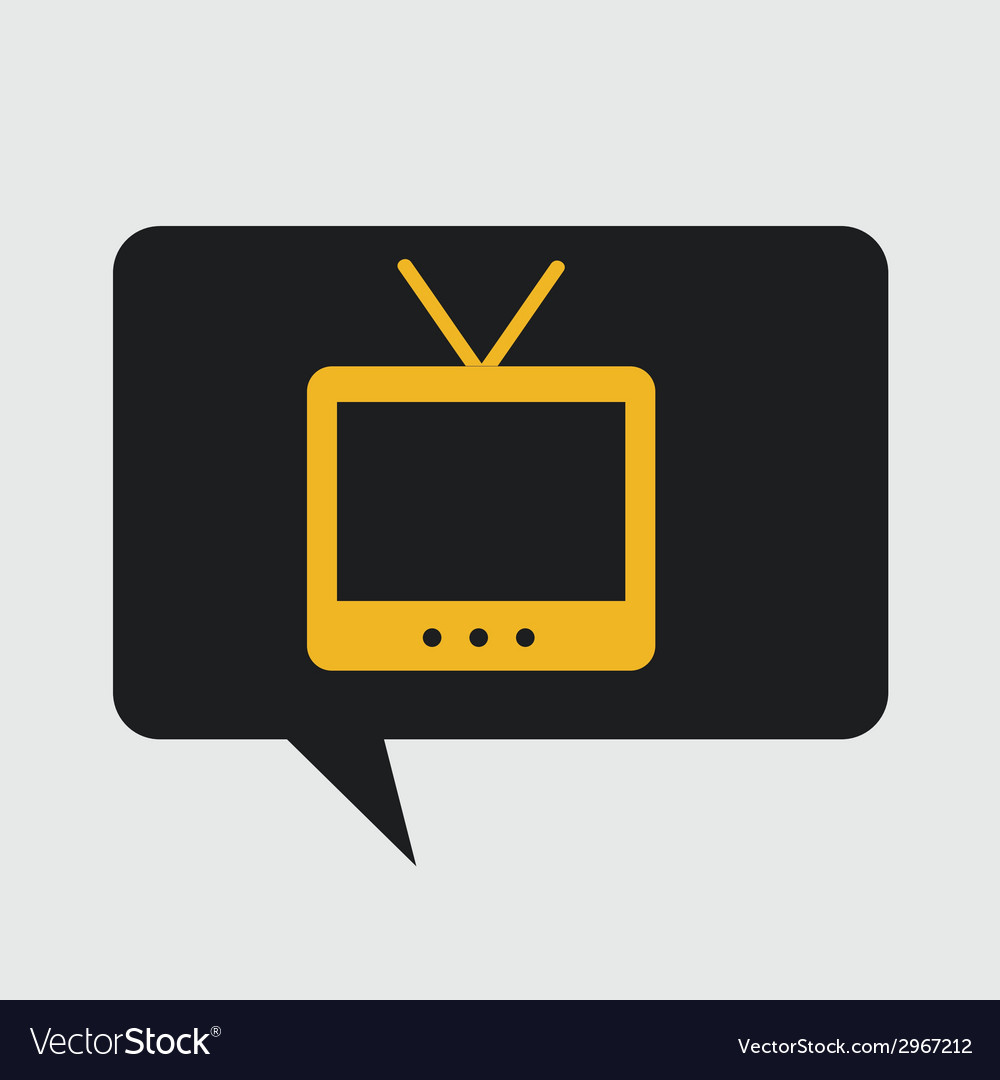 Tv design vector | Price: 1 Credit (USD $1)