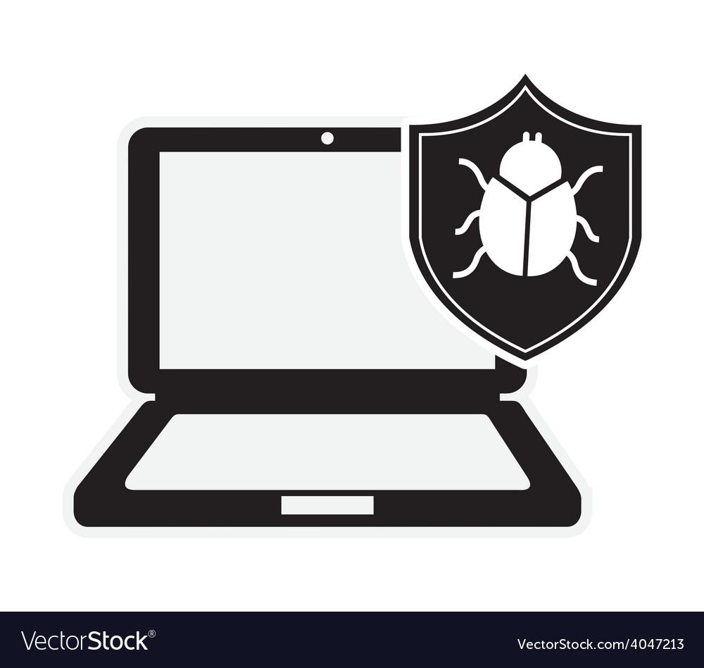 Computer virus vector | Price: 1 Credit (USD $1)