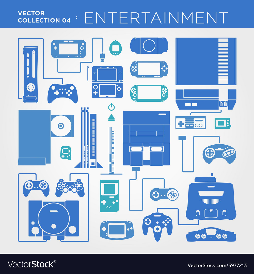 Entertainment collection vector | Price: 1 Credit (USD $1)