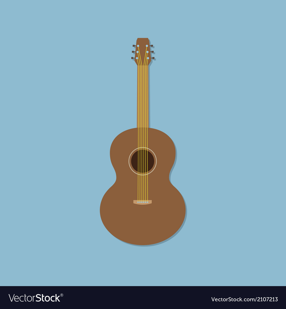 Guitar vector | Price: 1 Credit (USD $1)