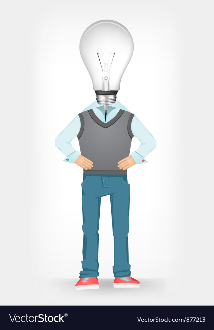 Idea guy vector | Price: 3 Credit (USD $3)