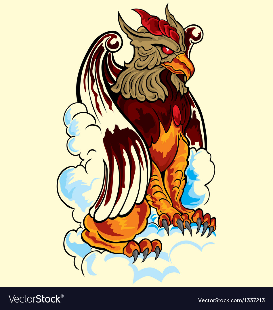 Lion eagle vector | Price: 1 Credit (USD $1)