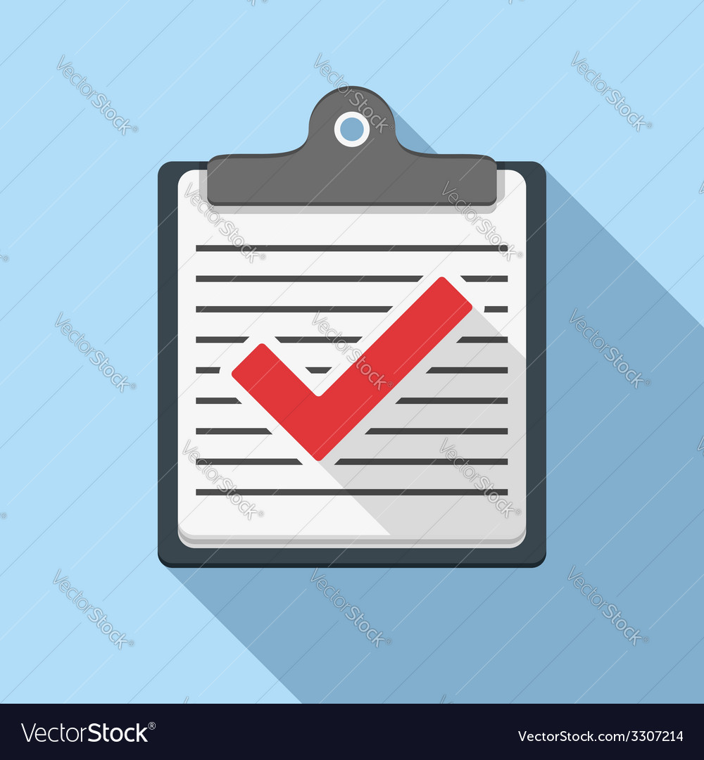 Check list icon vector | Price: 1 Credit (USD $1)
