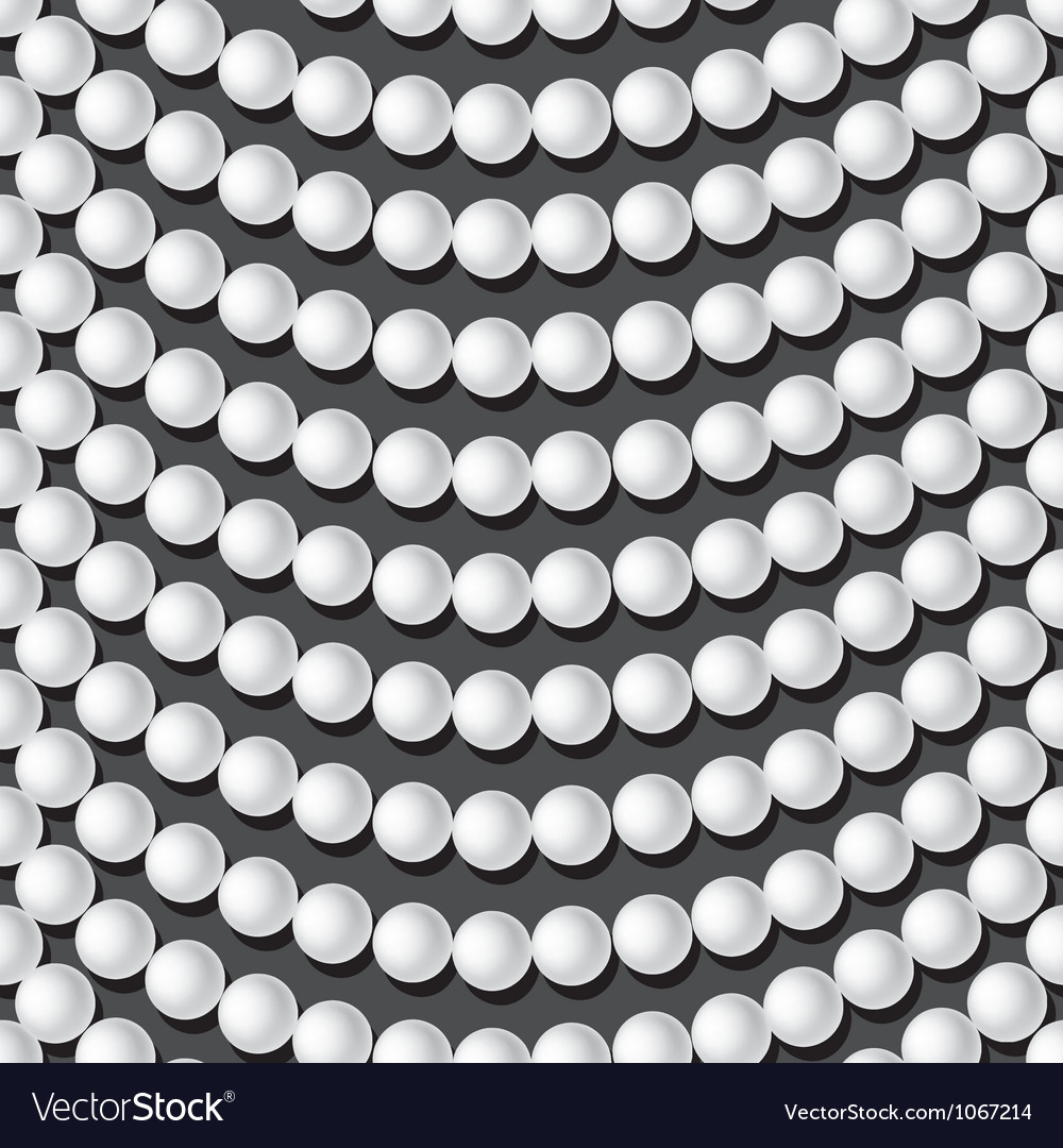 White pearl necklace on dark background vector | Price: 1 Credit (USD $1)