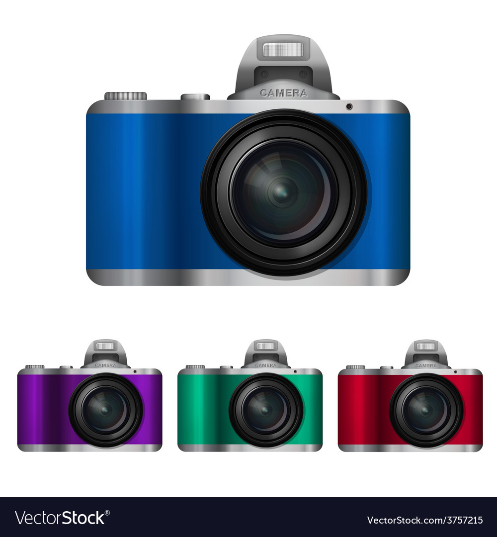 Camera set vector | Price: 3 Credit (USD $3)