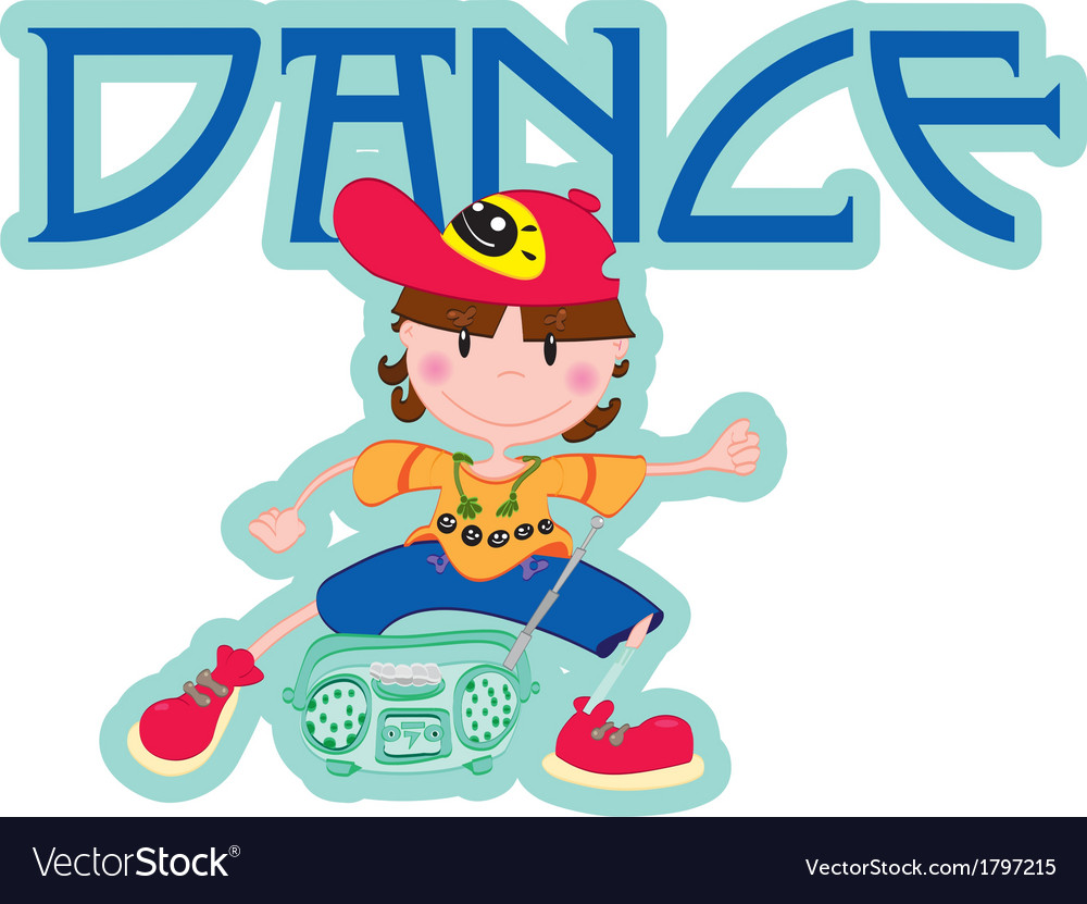 Dance boy vector | Price: 1 Credit (USD $1)