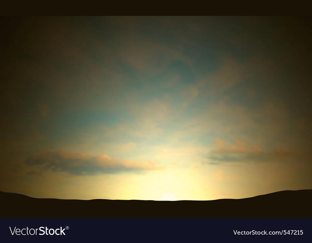 Dawn vector | Price: 1 Credit (USD $1)