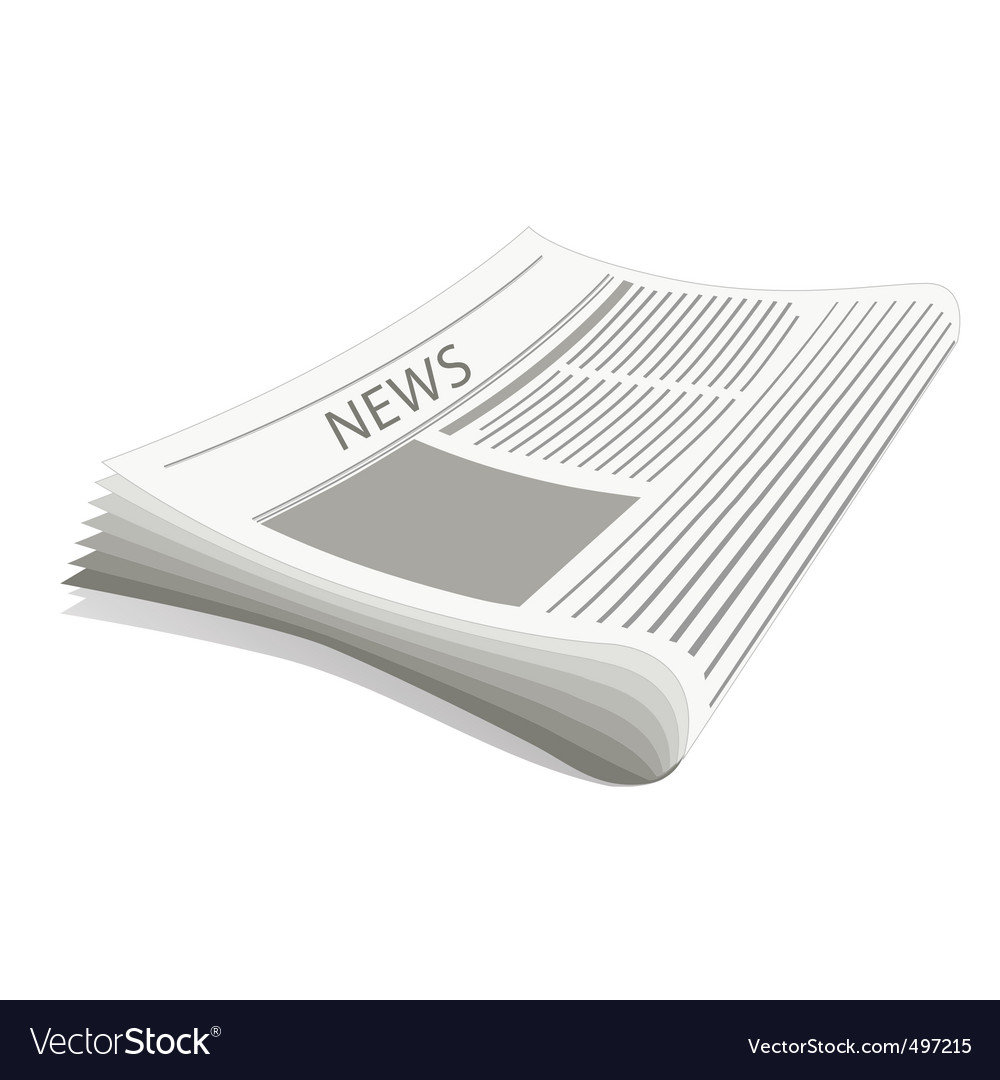 Newspaper vector | Price: 1 Credit (USD $1)