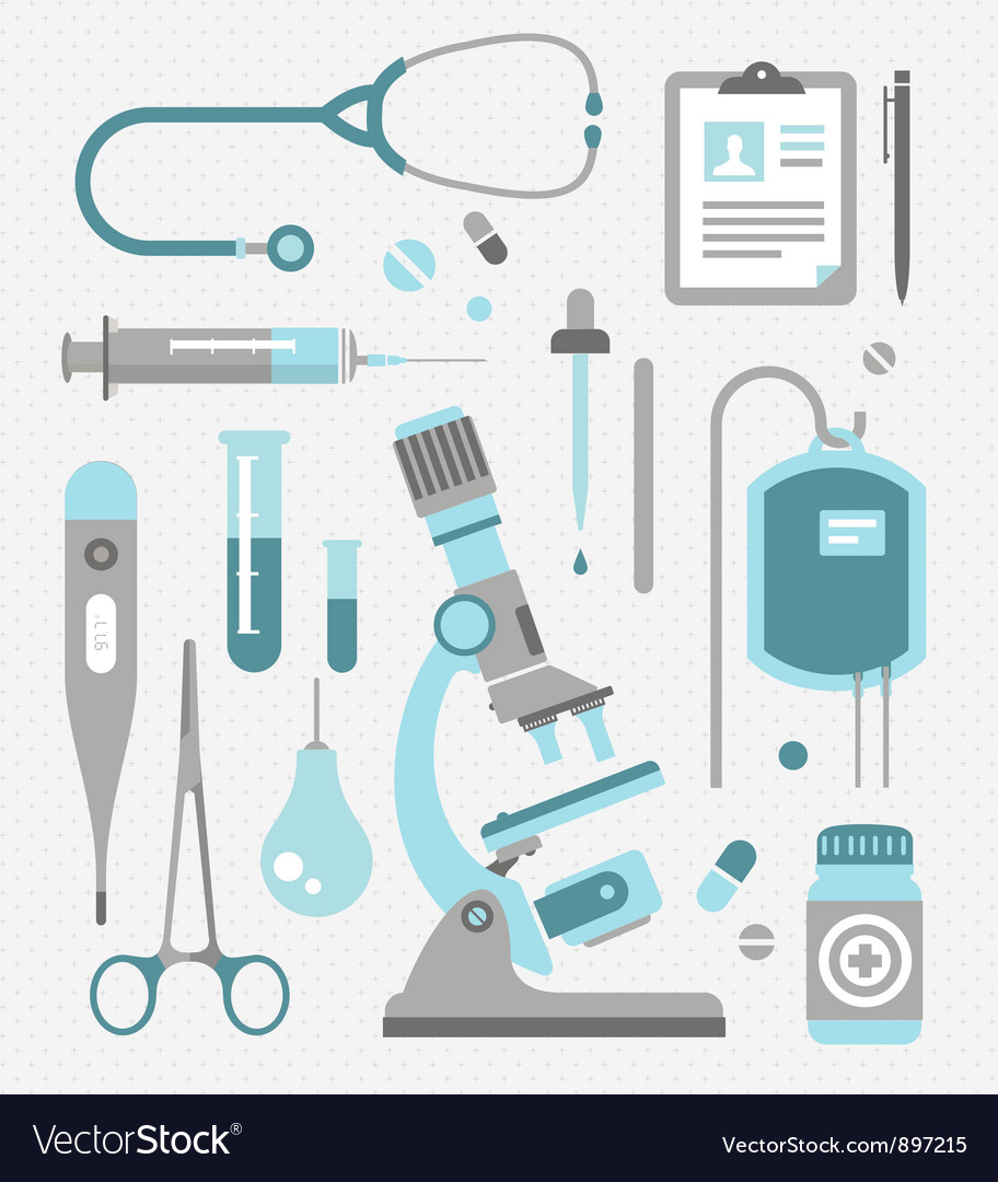 Set of medical icons vector | Price: 3 Credit (USD $3)