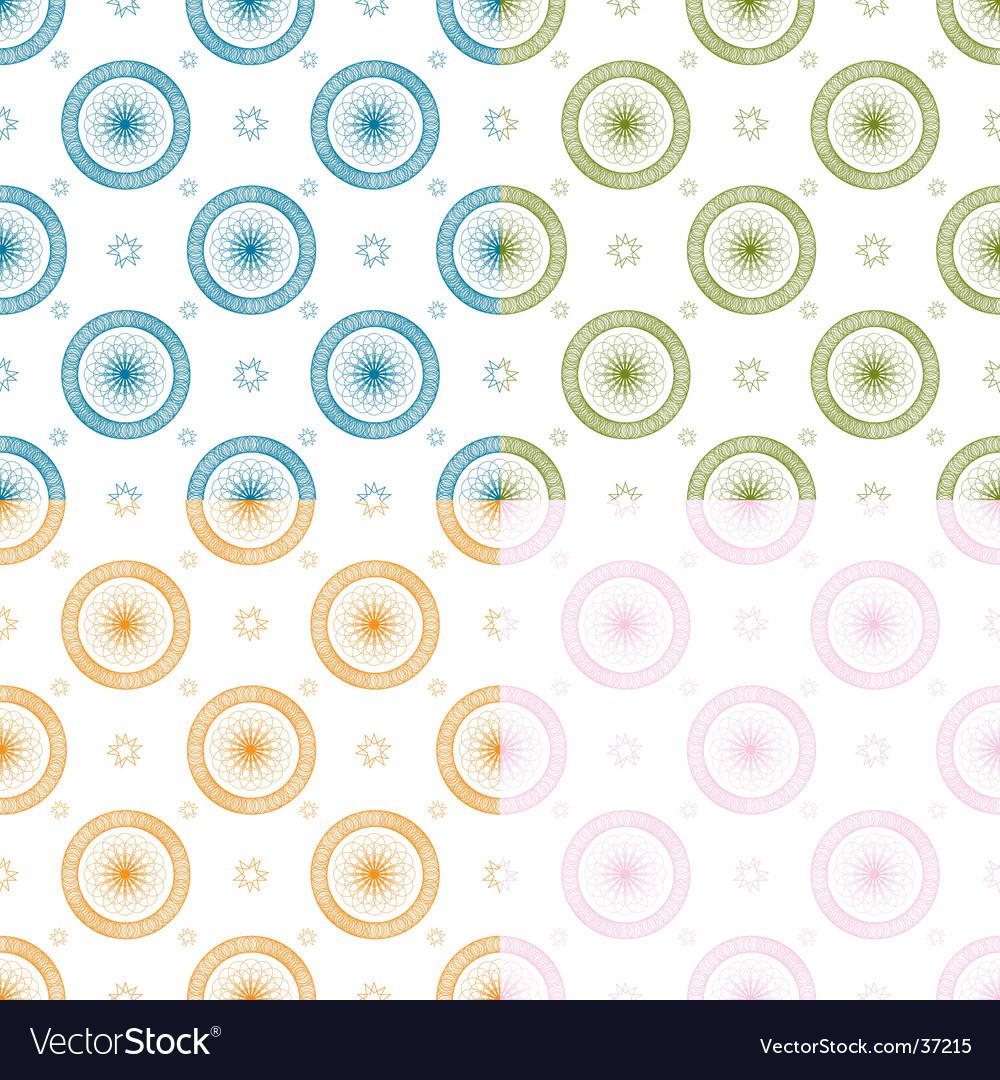 Swirl blue repeat multi vector | Price: 1 Credit (USD $1)