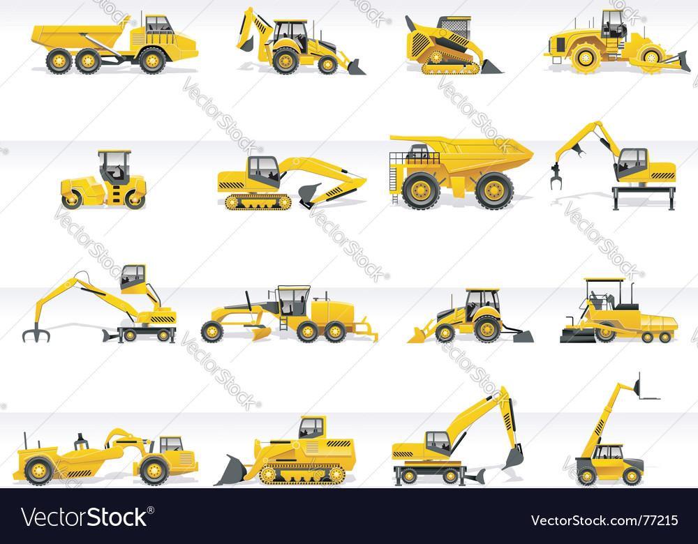 Transportation icon set vector | Price: 3 Credit (USD $3)