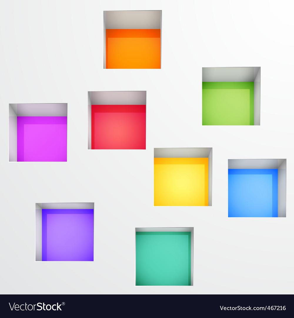 3d shelves vector   Price: 1 Credit (USD $1)