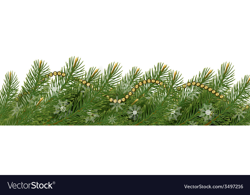 Christmas background with balls and branches vector   Price: 3 Credit (USD $3)