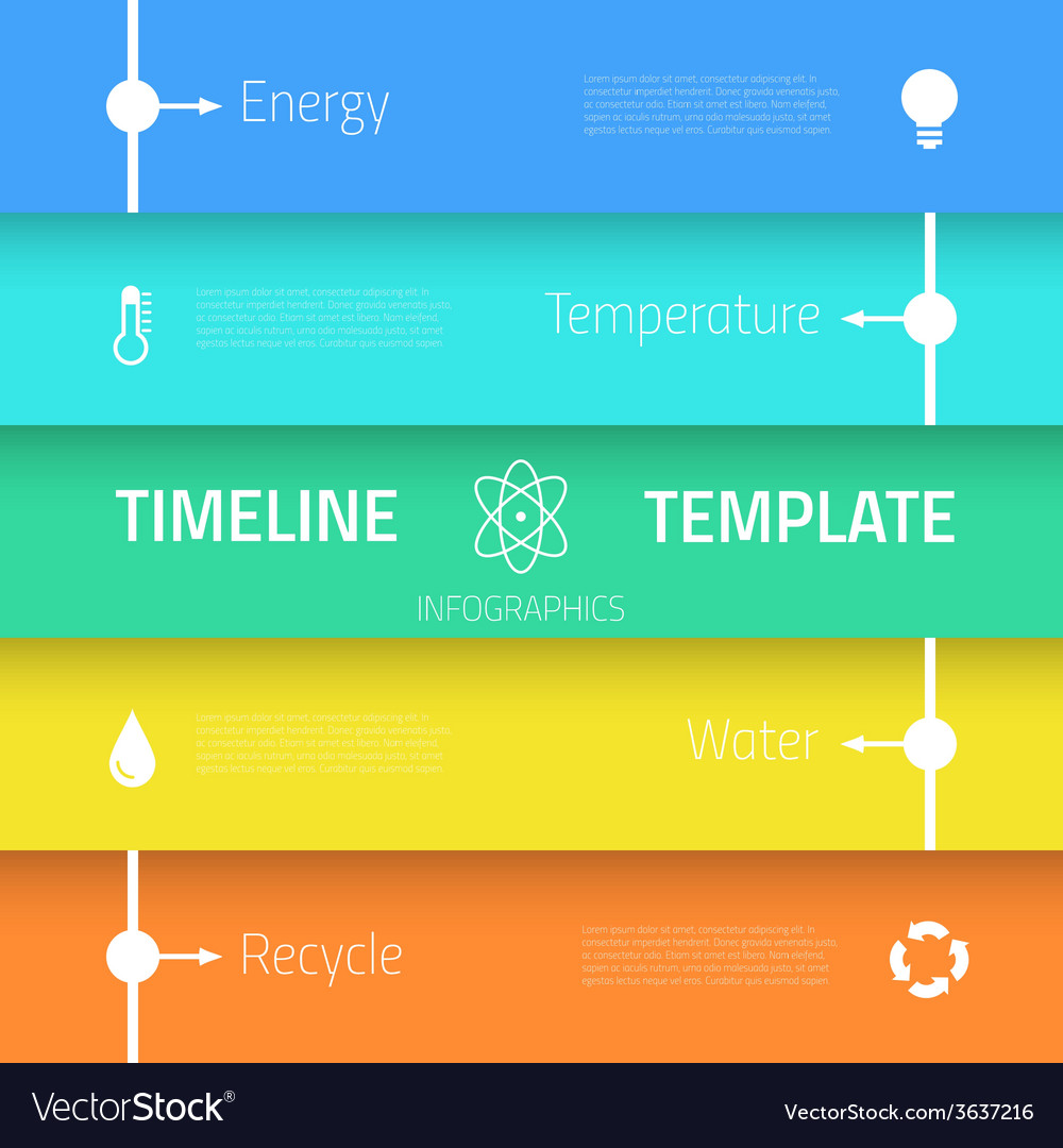 Web infographic timeline template layout with vector | Price: 1 Credit (USD $1)