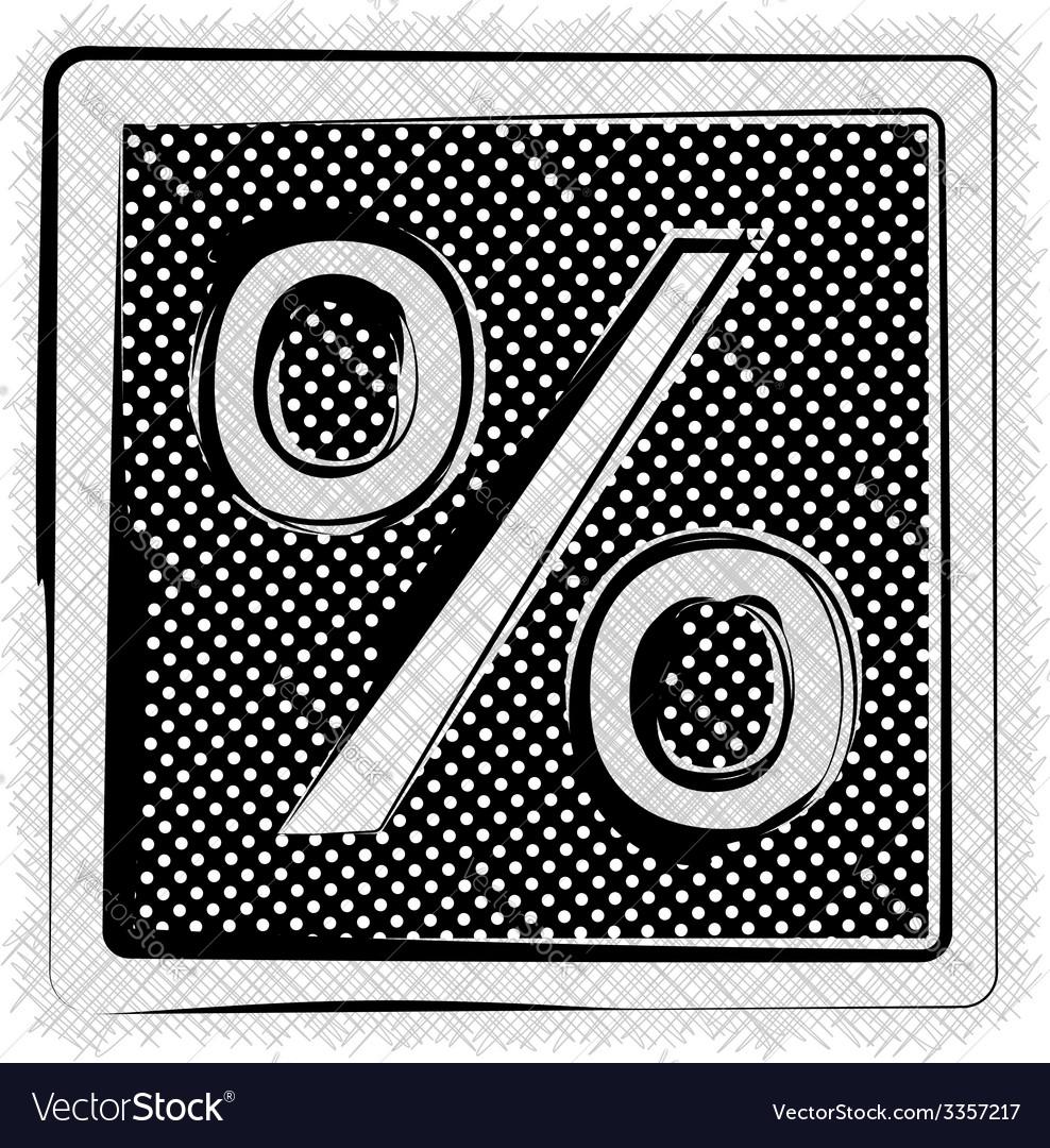 Polka dot symbol vector | Price: 1 Credit (USD $1)