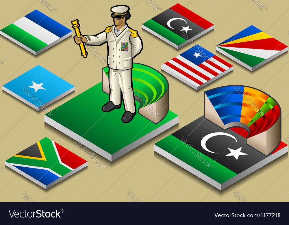 Isometric representation of dictatorship or vector | Price: 1 Credit (USD $1)