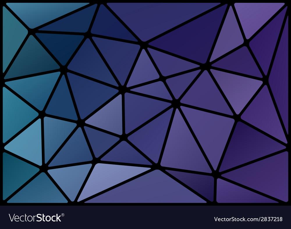 Triagles blue black vector | Price: 1 Credit (USD $1)