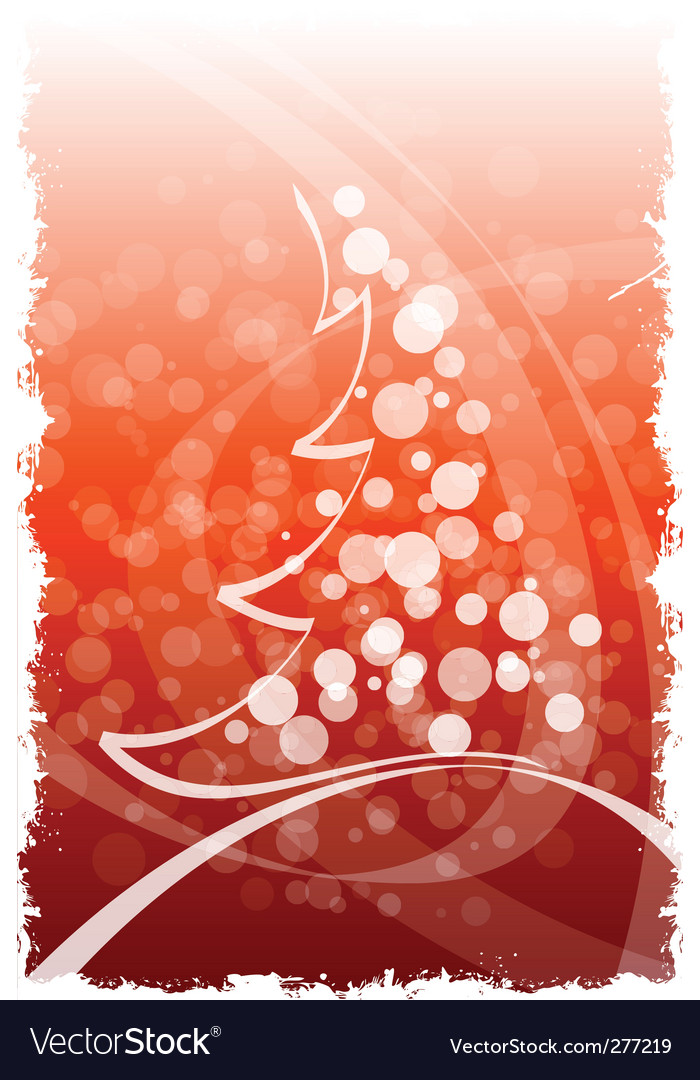 Grunge winter and christmas background vector | Price: 1 Credit (USD $1)