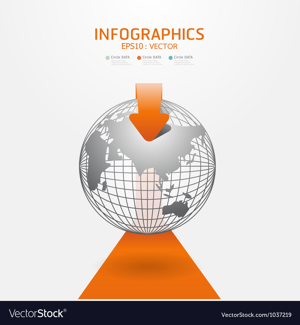 Infographics set and information vector | Price: 1 Credit (USD $1)
