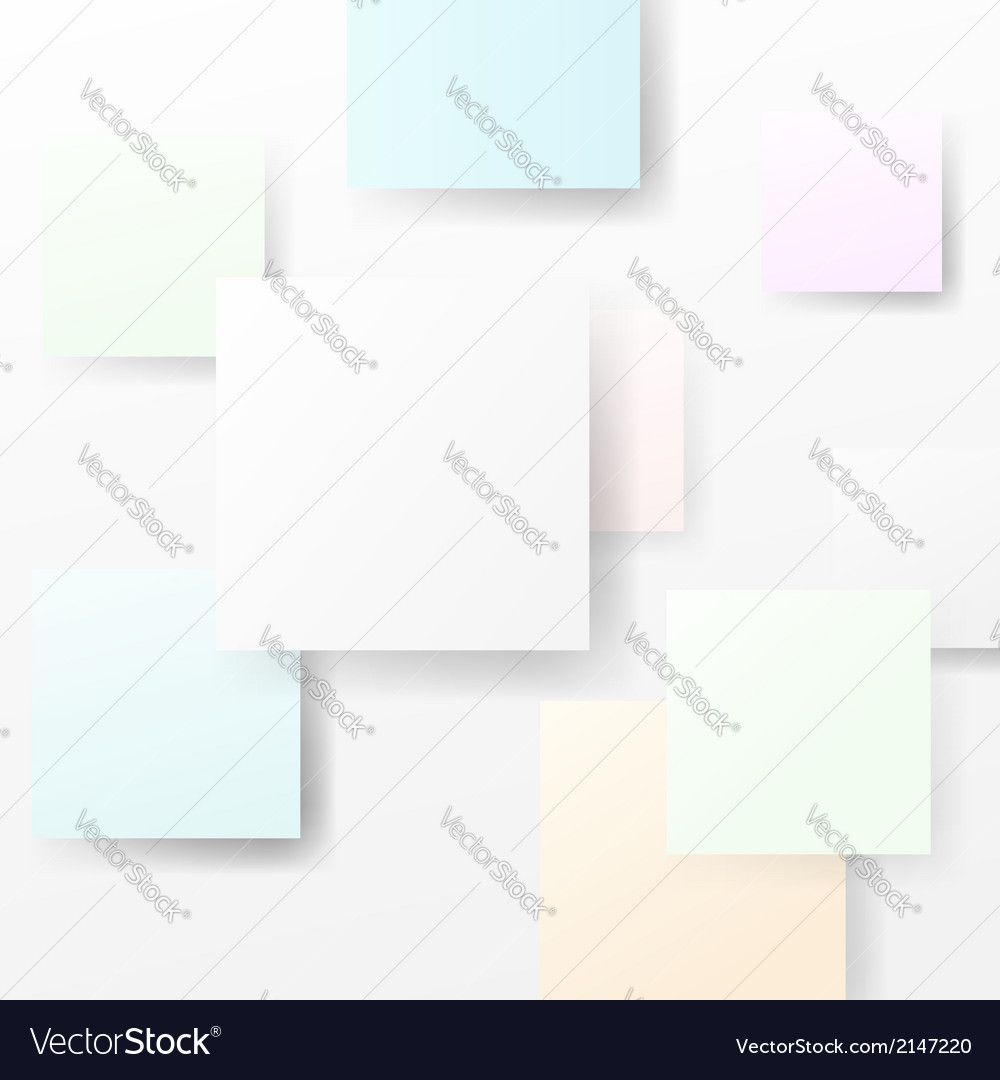 Bright halftone abstract square advertisement vector | Price: 1 Credit (USD $1)