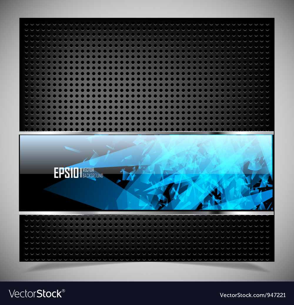 Smooth colorful abstract techno background vector | Price: 1 Credit (USD $1)