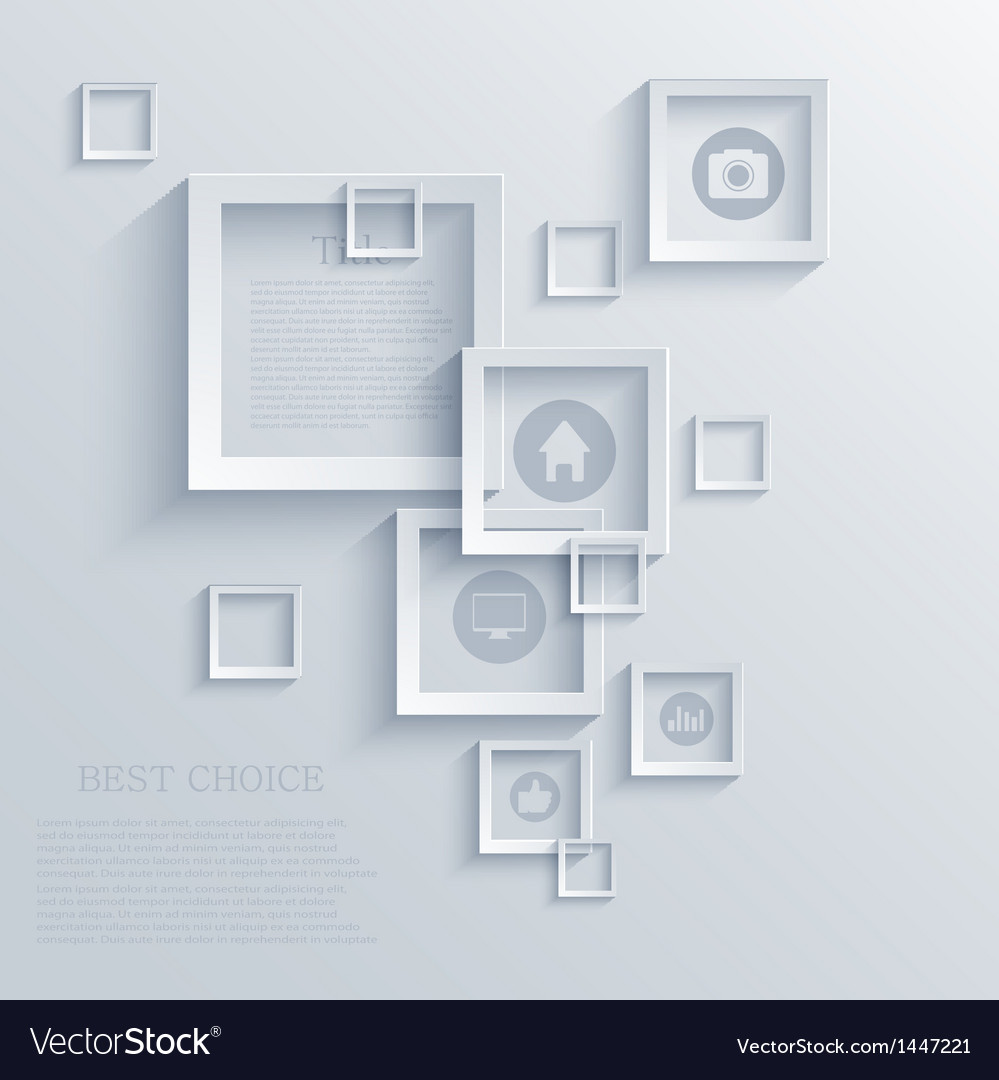 Square background eps10 vector | Price: 1 Credit (USD $1)