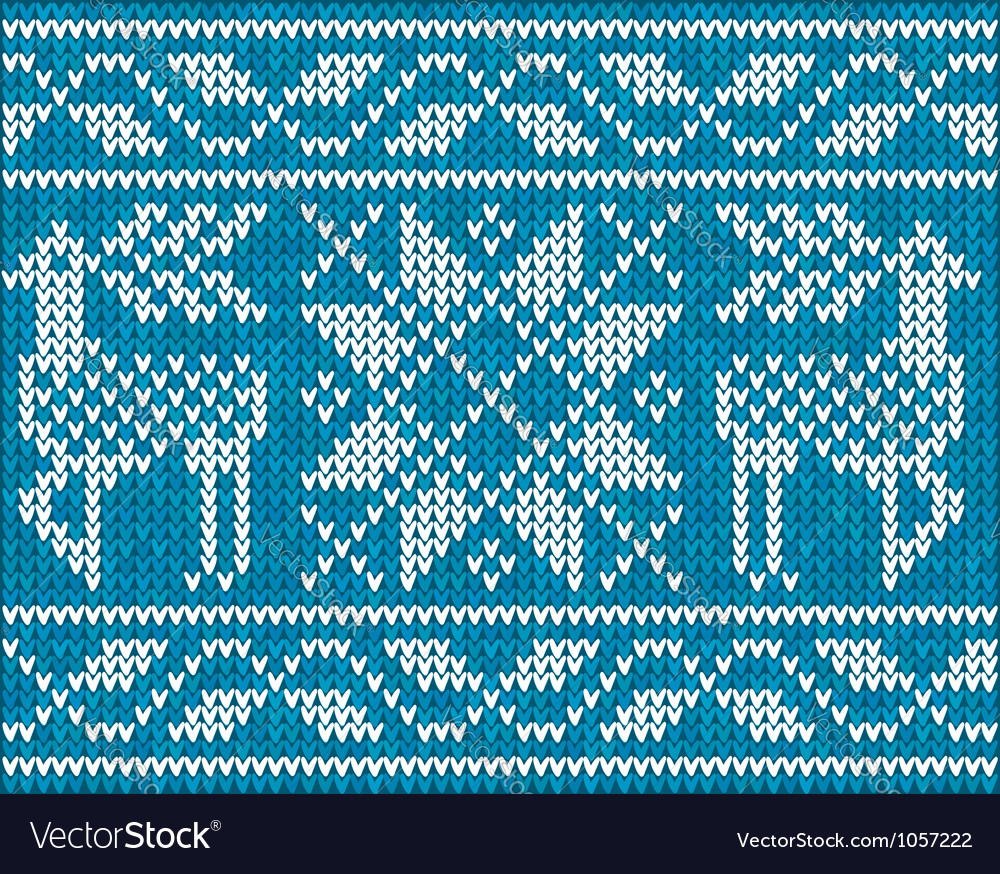 Christmas background with embroidery vector | Price: 1 Credit (USD $1)