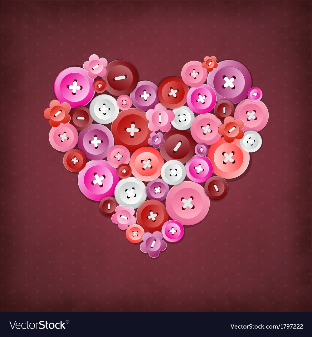 Decorative heart vector | Price: 1 Credit (USD $1)