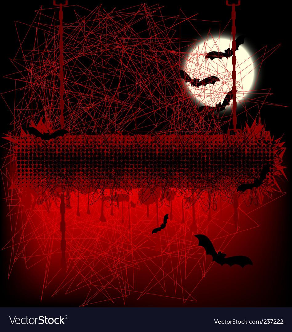 Halloween banner vector | Price: 1 Credit (USD $1)