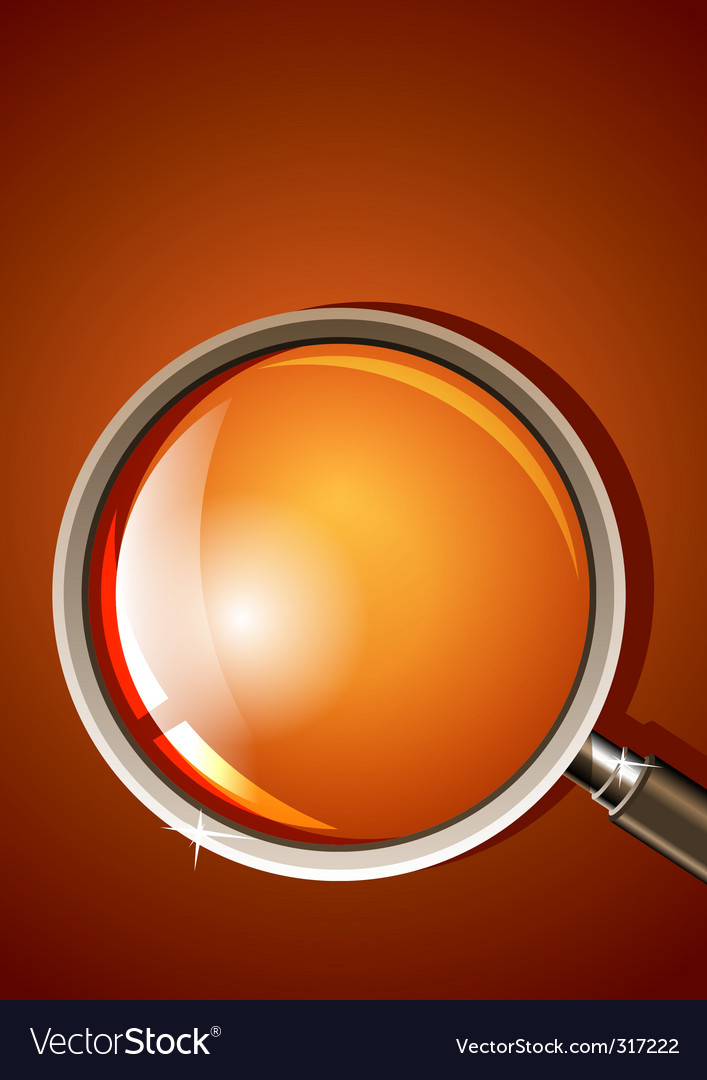 Magnifying glass vector | Price: 3 Credit (USD $3)