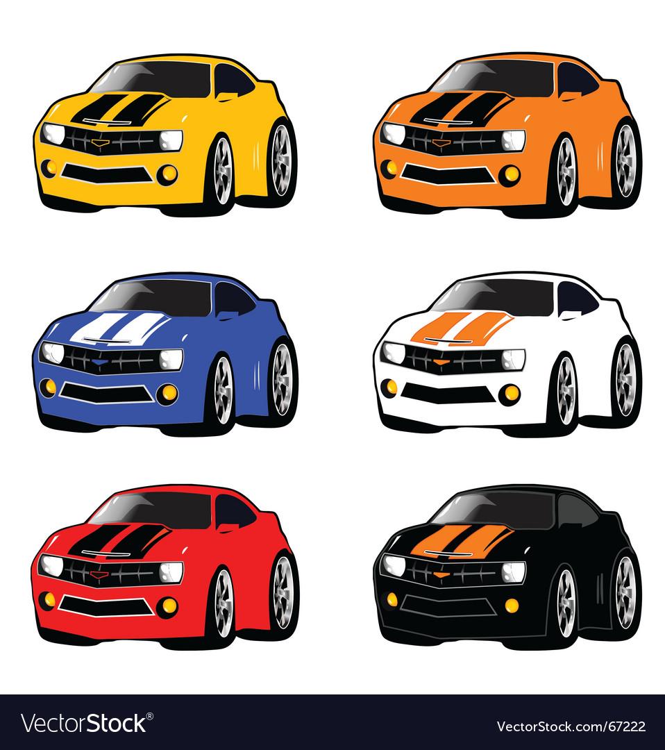 Mini cars vector | Price: 1 Credit (USD $1)