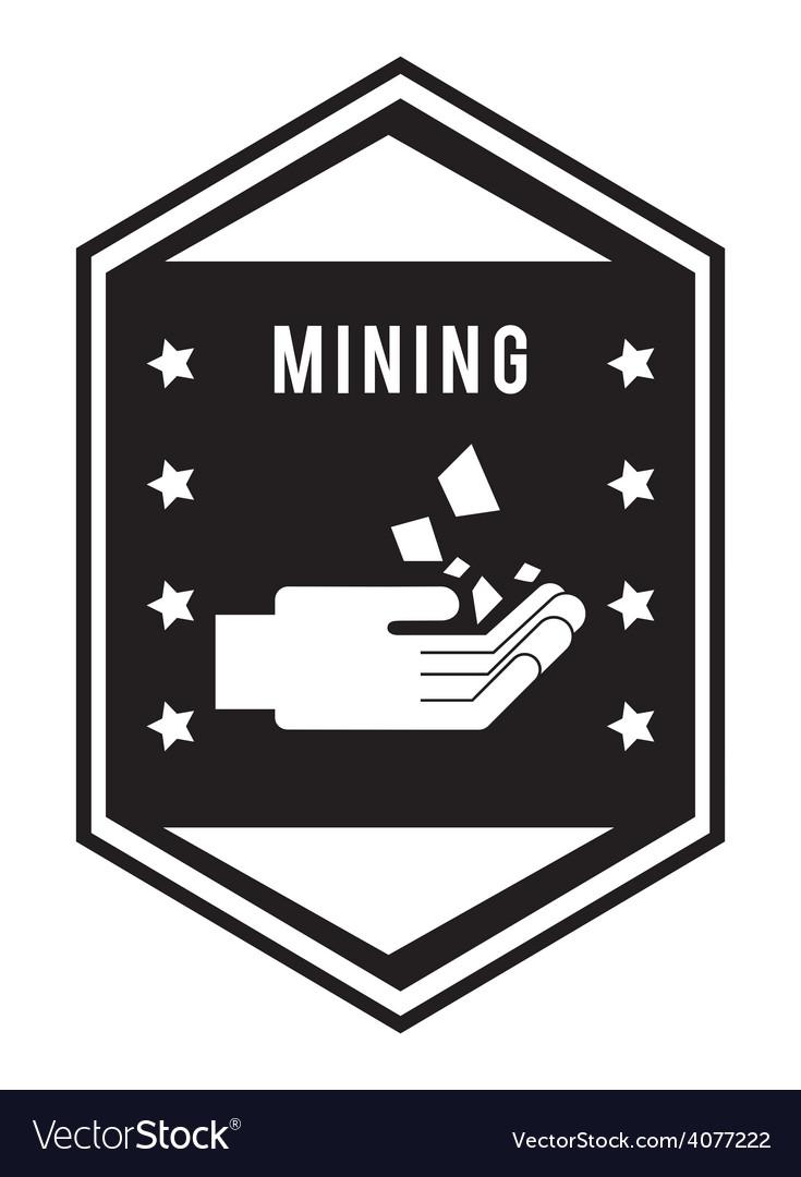 Mining area vector | Price: 1 Credit (USD $1)