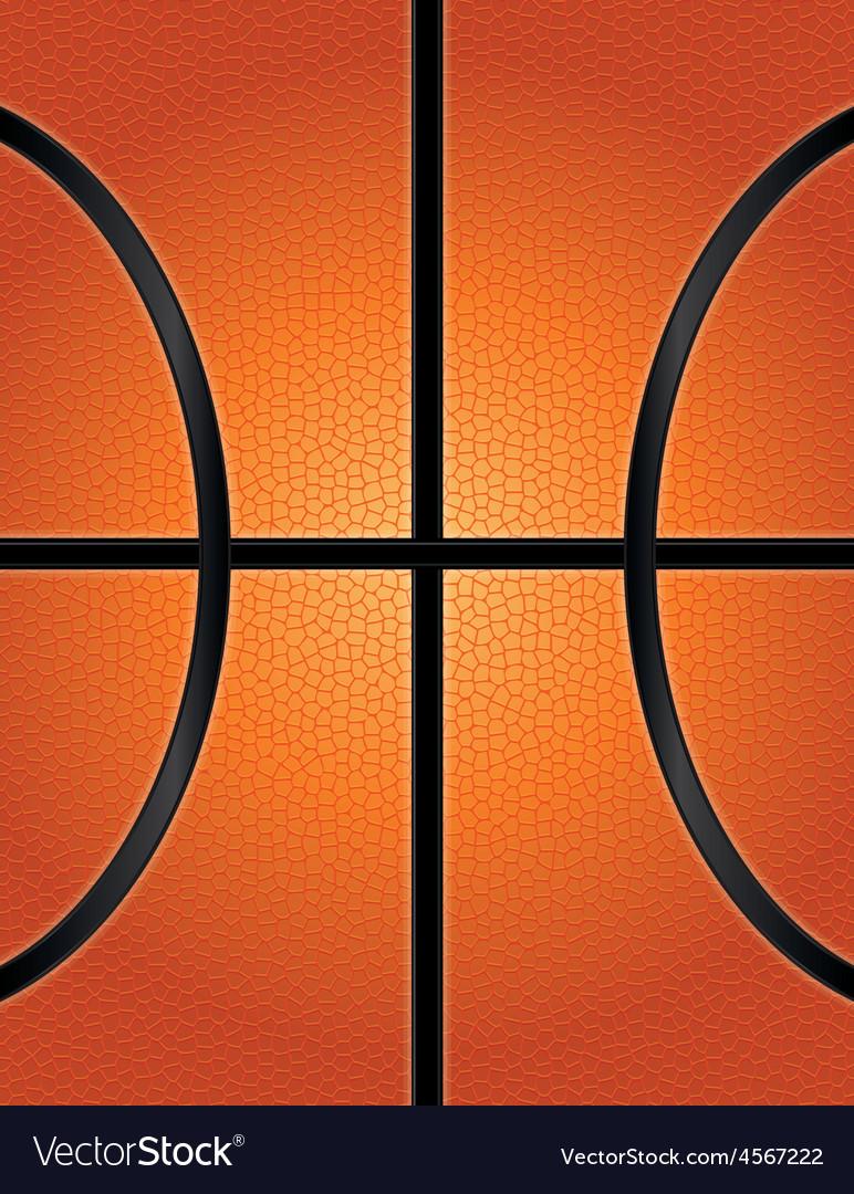 Textured basketball closeup background vector | Price: 1 Credit (USD $1)