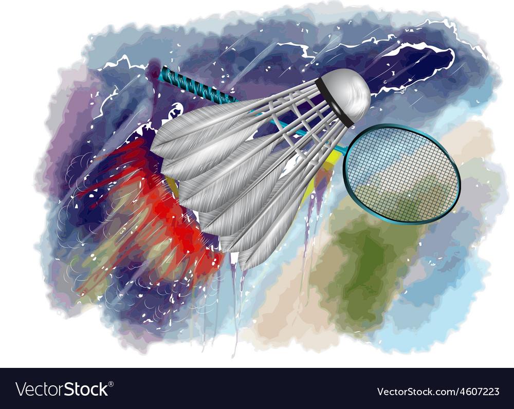 Badminton championship vector   Price: 1 Credit (USD $1)