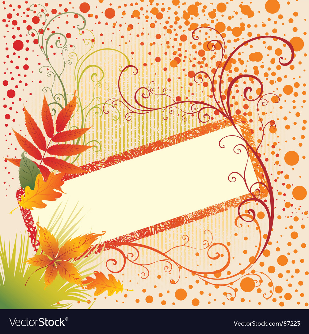 Grunge frame background with colorful vector | Price: 1 Credit (USD $1)