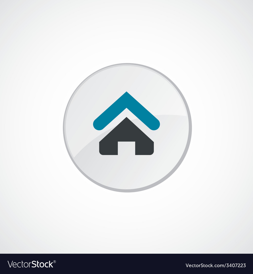 Home icon 2 colored vector | Price: 1 Credit (USD $1)