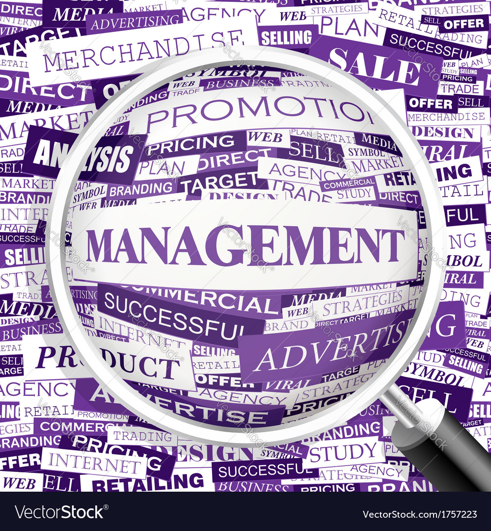 Management vector | Price: 1 Credit (USD $1)