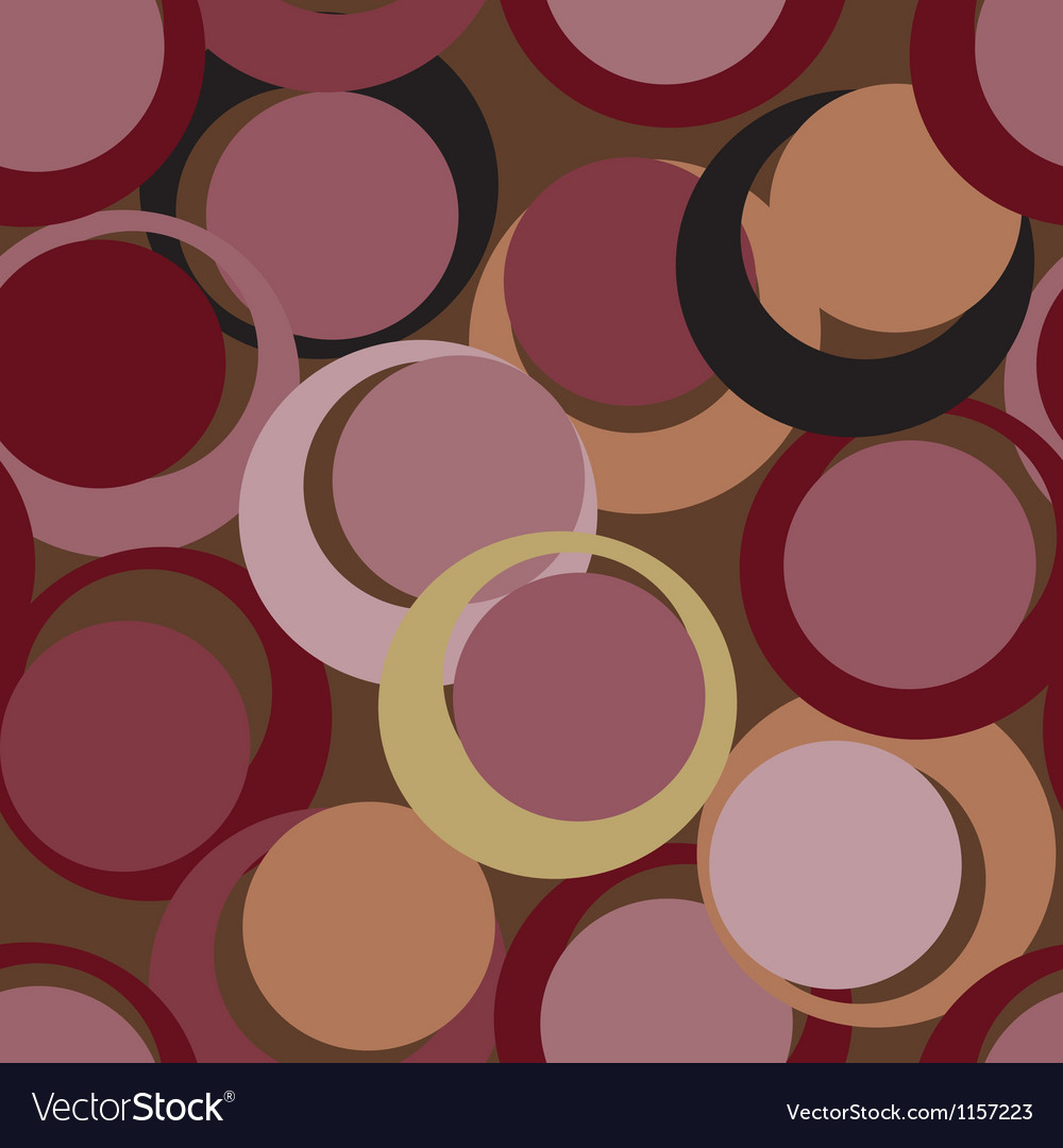Seamless circle pattern vector | Price: 1 Credit (USD $1)
