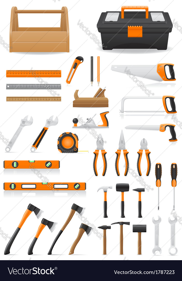 Set tools vector | Price: 1 Credit (USD $1)