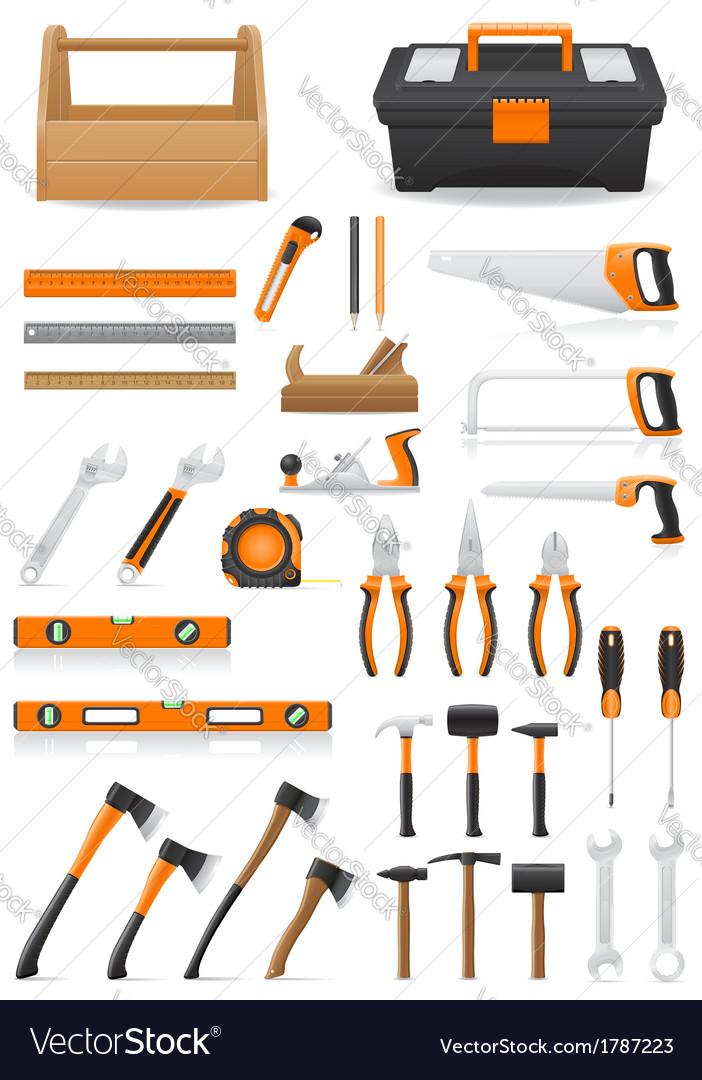 Set tools vector | Price: 1 Credit (USD $1)