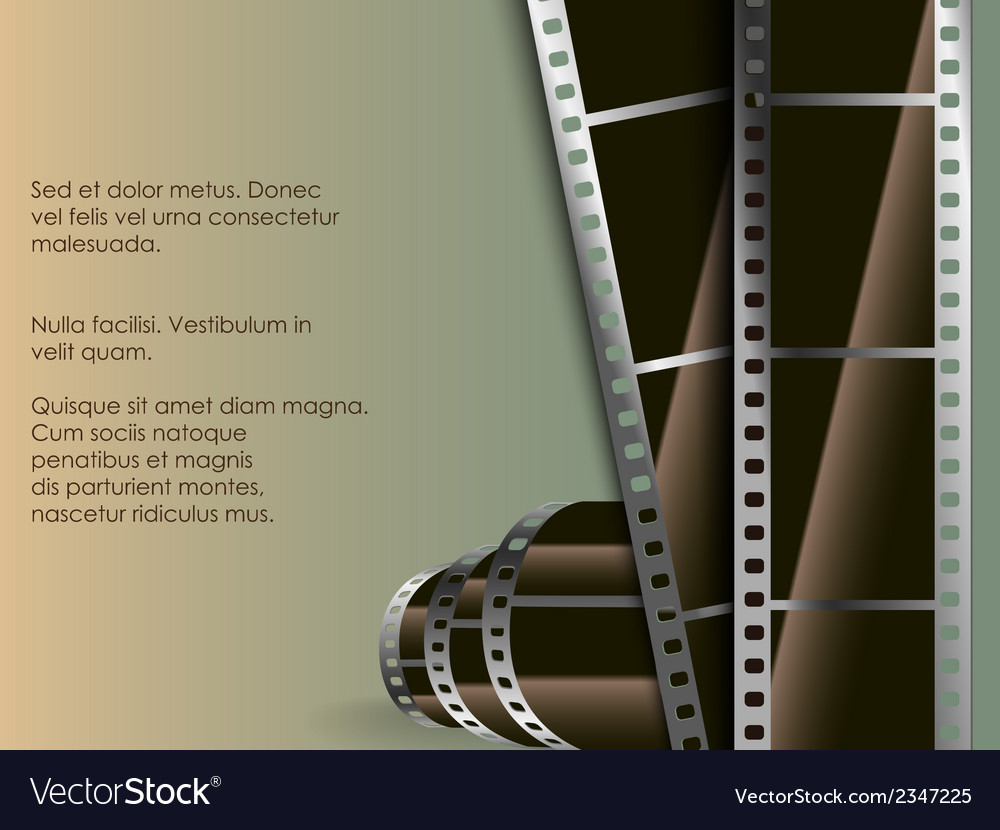 Conceptual background of film with a photo vector | Price: 1 Credit (USD $1)