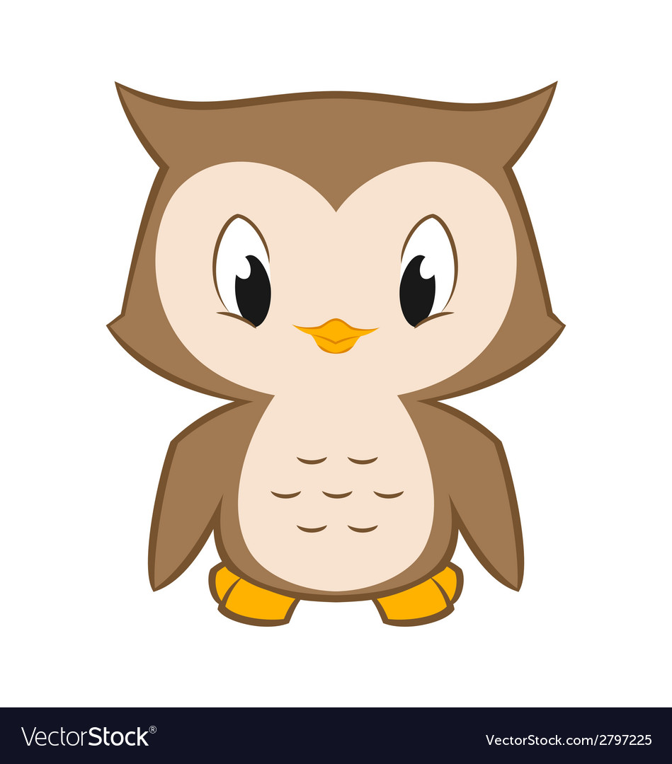 Little owl vector | Price: 1 Credit (USD $1)