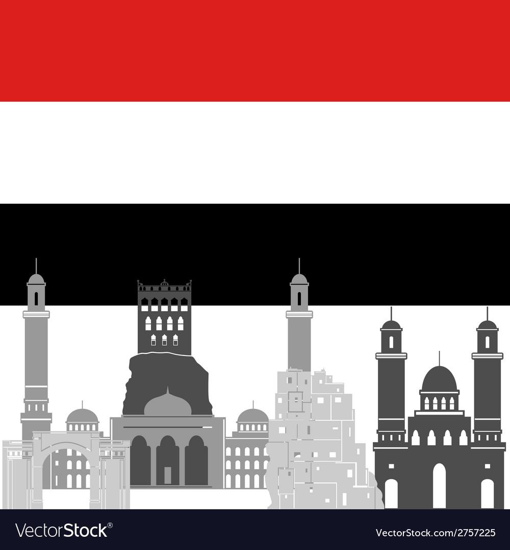 Yemen vector   Price: 1 Credit (USD $1)