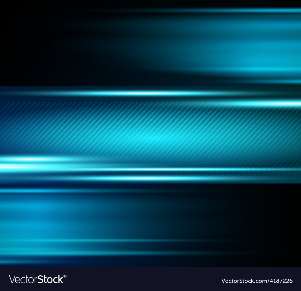Abstract blue light shiny background vector | Price: 3 Credit (USD $3)