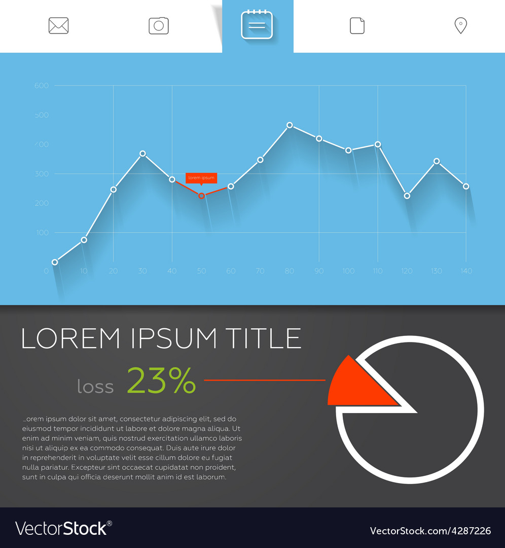 Detailed colorful infographic elements for web and vector | Price: 1 Credit (USD $1)