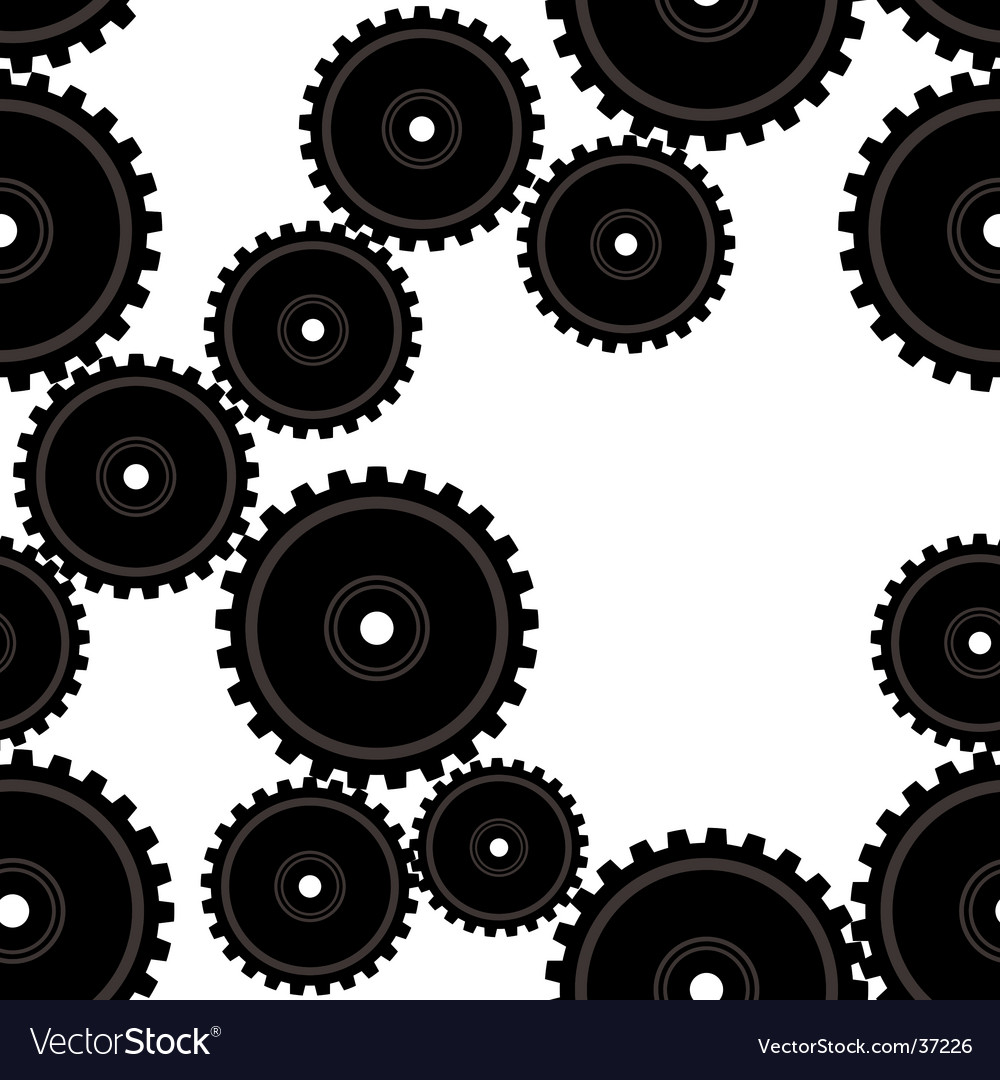 Gears repeat vector | Price: 1 Credit (USD $1)